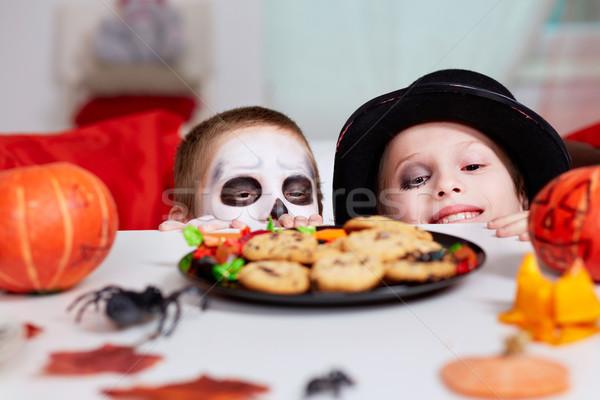 Halloween treats Stock photo © pressmaster