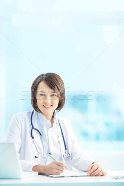 Portrait of a doctor Stock photo © pressmaster