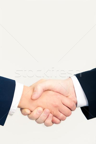 Photo stock: Félicitation · vertical · image · personnes · affaires · main
