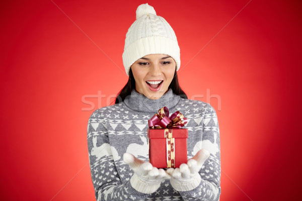 Girl in surprise Stock photo © pressmaster