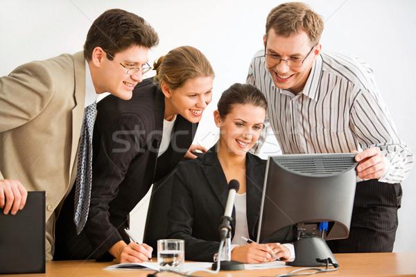 Teamwork Stock photo © pressmaster