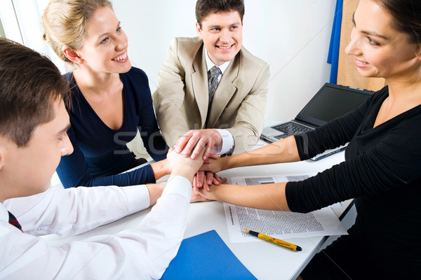 Business team. All for one! Stock photo © pressmaster