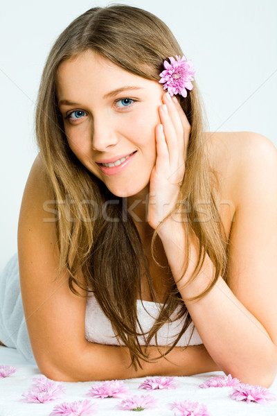In the beauty parlor Stock photo © pressmaster