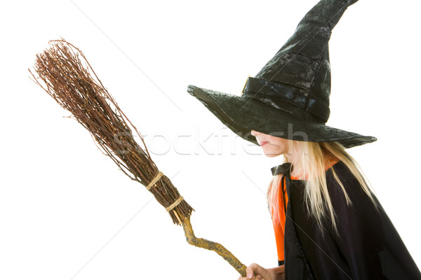 Scary witch Stock photo © pressmaster