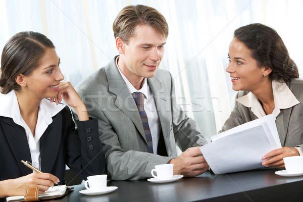 Stock fotó: Vállalati · munka · portré · üzleti · csapat · egyéb · iroda
