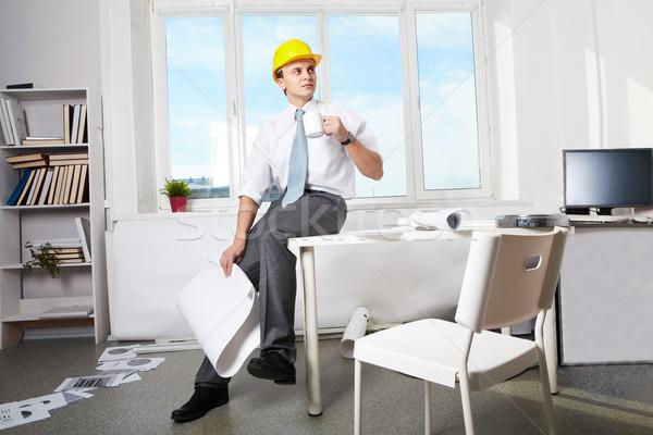 Foreman at work Stock photo © pressmaster
