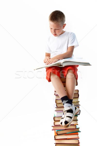 Reading Stock photo © pressmaster