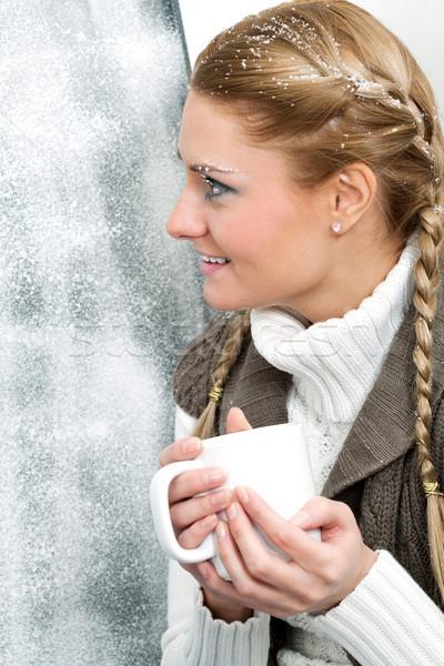 On frosty day Stock photo © pressmaster