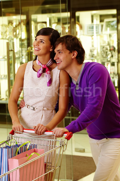 Shopping moment Stock photo © pressmaster