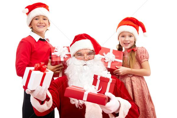 Stock photo: Christmas happiness