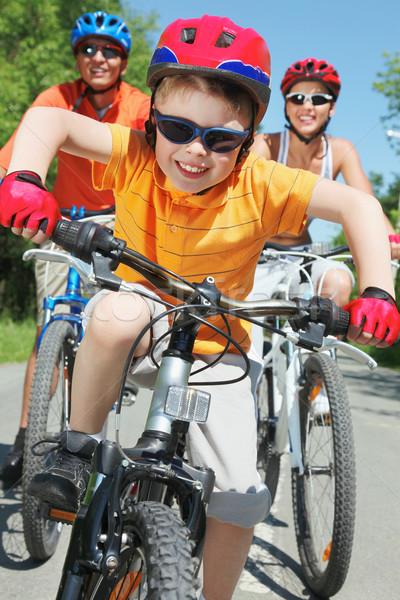 Happy ride Stock photo © pressmaster