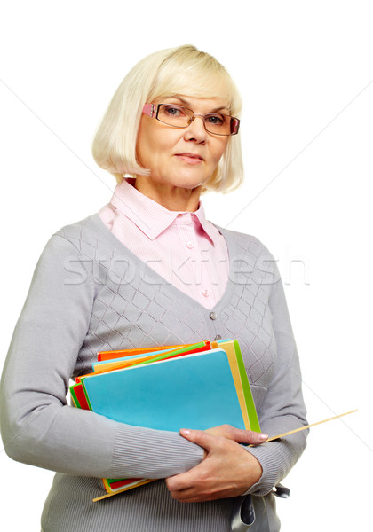 Stock photo: Strict lecturer