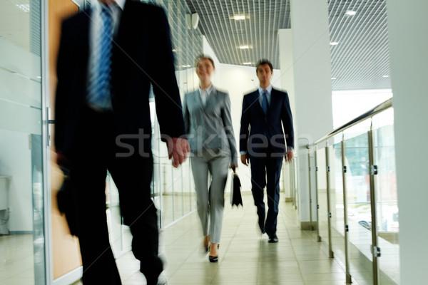 Walking people Stock photo © pressmaster
