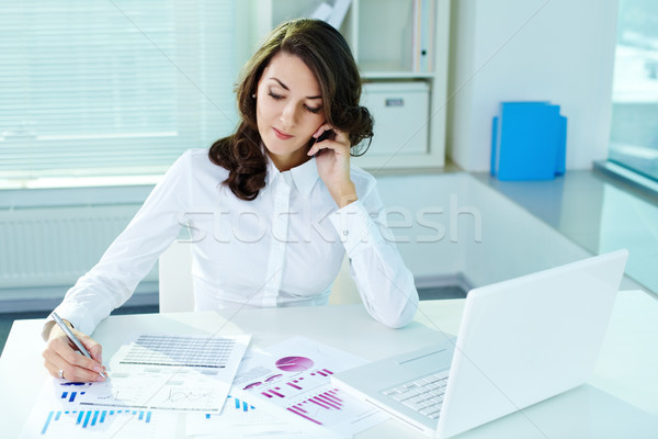 Stock photo: Working hours