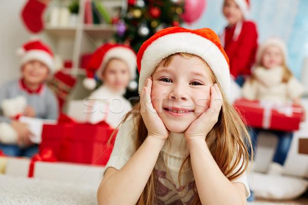 Stock photo: Christmas girl