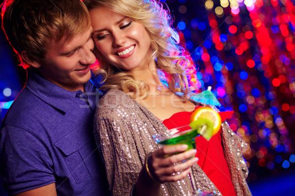 Paar partij afbeelding gelukkig nachtclub vrouw Stockfoto © pressmaster