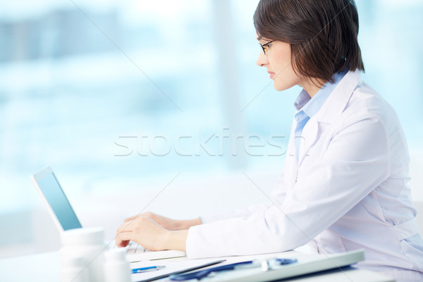 Modern intern Stock photo © pressmaster