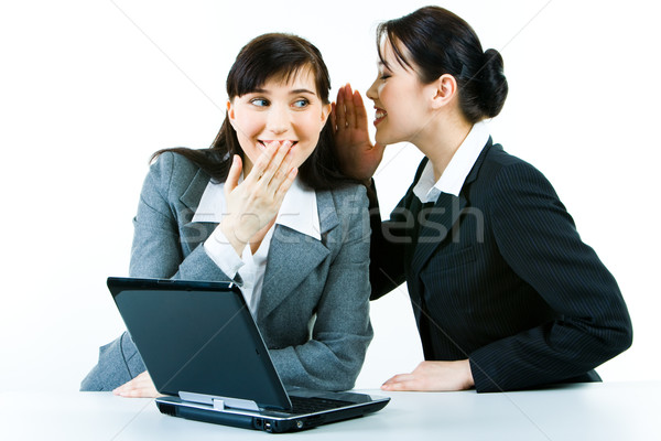 Gossip at work  Stock photo © pressmaster