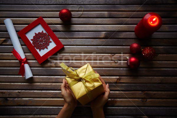 Small surprise for Christmas Stock photo © pressmaster