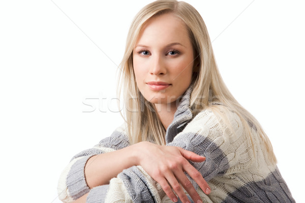 Сток-фото: очаровательный · девушки · портрет · женщины