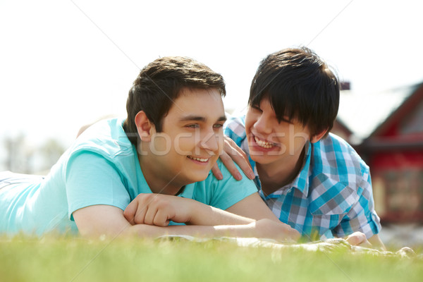 Spring lovers Stock photo © pressmaster