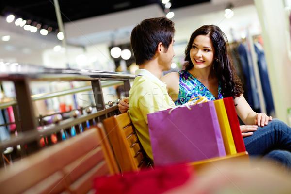 Shopping lovers Stock photo © pressmaster