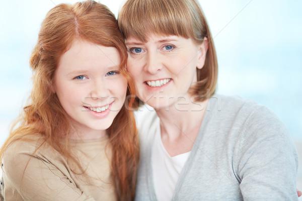 Stock photo: Cheerful females