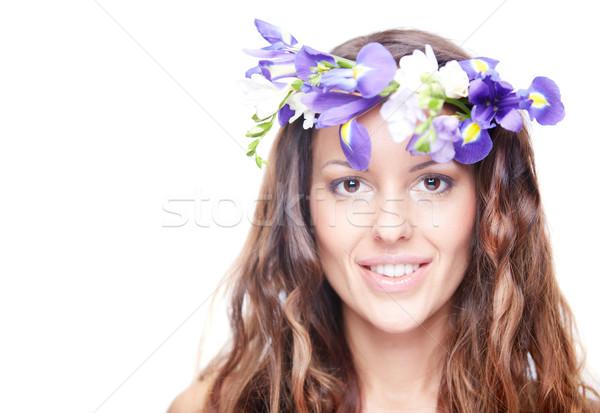 Spring nymph Stock photo © pressmaster