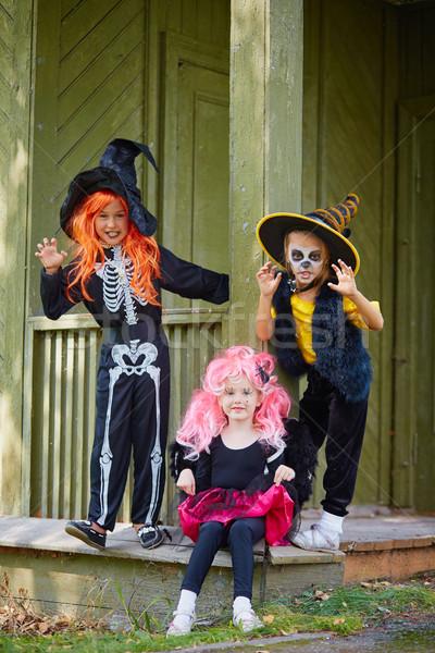 Little witches Stock photo © pressmaster