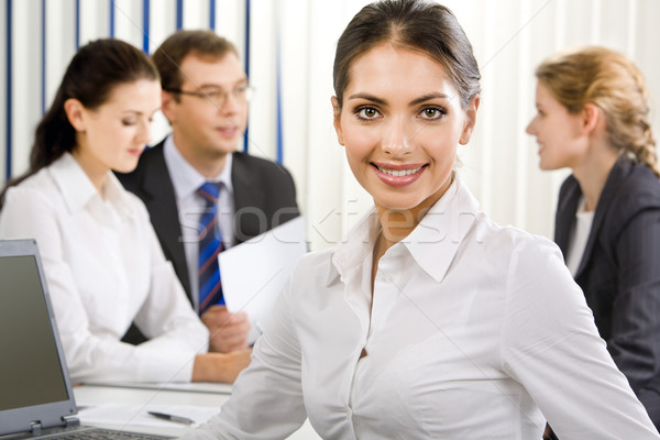 Elegant female business leader Stock photo © pressmaster
