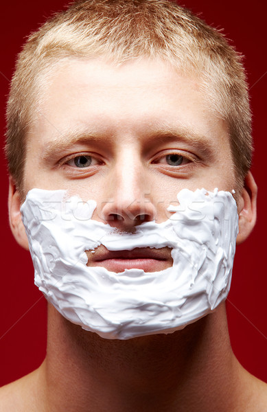 Before shaving Stock photo © pressmaster