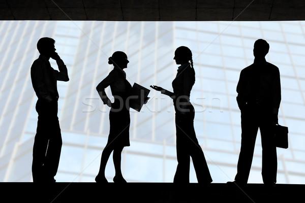 Stock photo: Working people