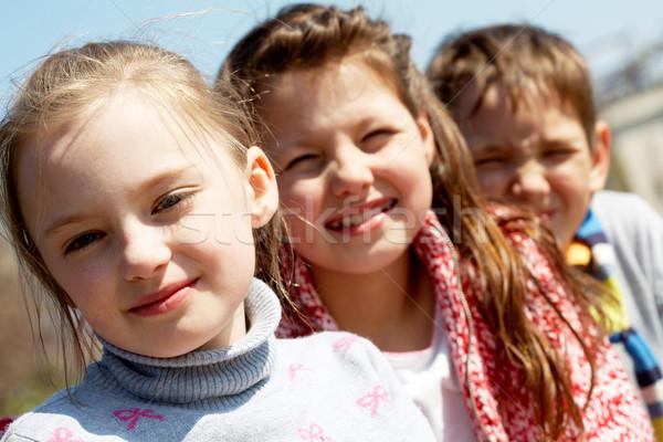Stock photo: Preschoolers