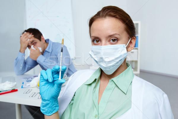 Measure against flu Stock photo © pressmaster