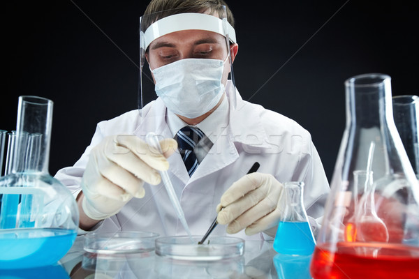 Bio research Stock photo © pressmaster