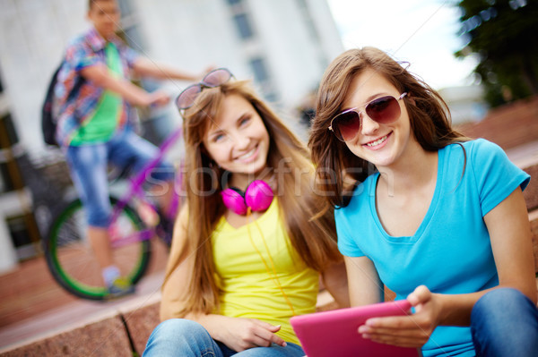 Life of teenagers Stock photo © pressmaster