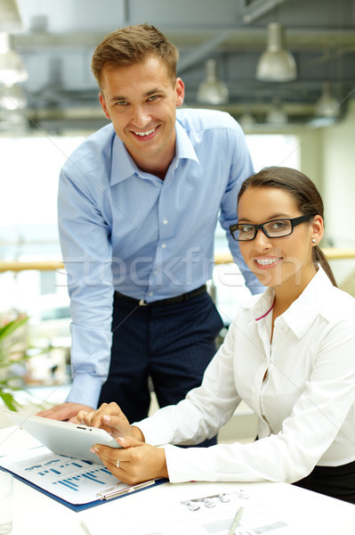 Business agency Stock photo © pressmaster