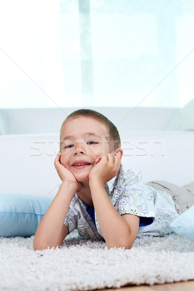 Restful boy Stock photo © pressmaster