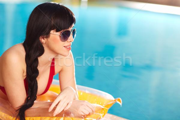 Verão retrato mulher biquíni óculos de sol Foto stock © pressmaster