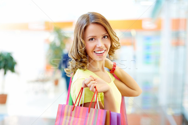 Happy with shopping Stock photo © pressmaster