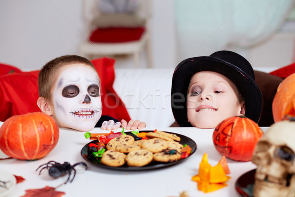 Halloween treats Stock photo © pressmaster