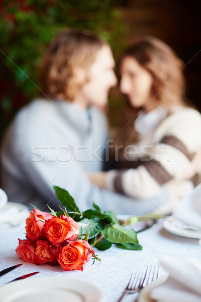 Romantic supper Stock photo © pressmaster