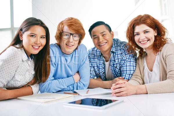 Group of students Stock photo © pressmaster