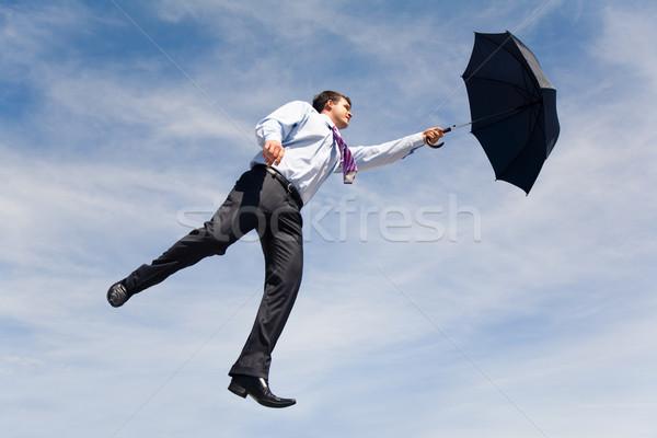 Flying ahead Stock photo © pressmaster
