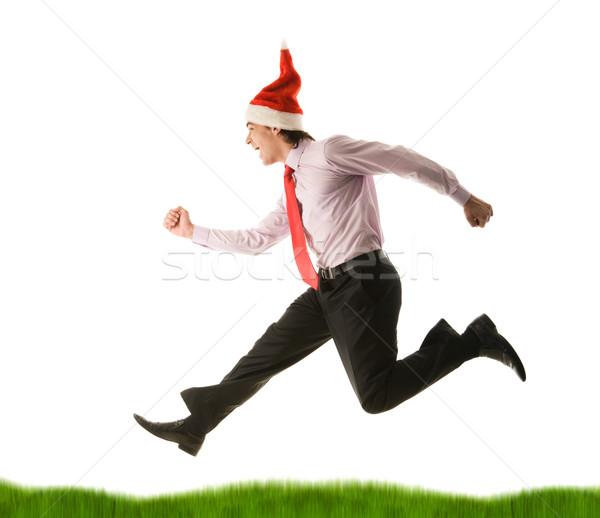Energetic man Stock photo © pressmaster