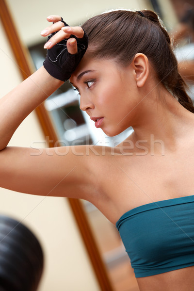 Sportive girl Stock photo © pressmaster