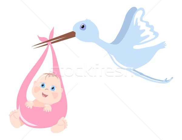 Newborn child  Stock photo © pressmaster