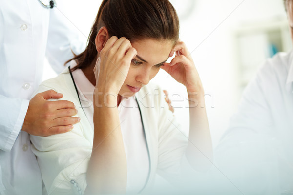 Stock photo: Migraine