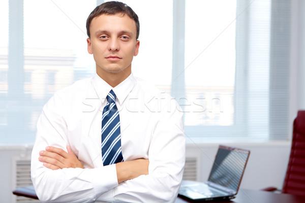 Serious businessman Stock photo © pressmaster