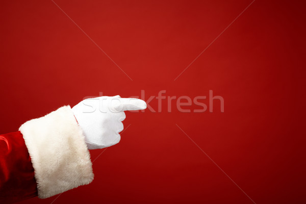 Pointing Stock photo © pressmaster
